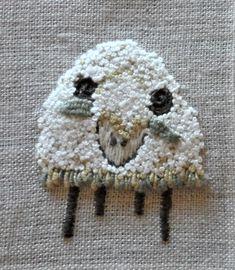 Needle And Thread, Sheep, Crochet Hats, Beanie, Knitting Hats, Beanies, Beret