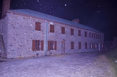 Old Fort Erie, kind of eerie, wouldn't you say?