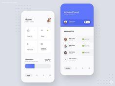 "Filip Legierski - UI Design ""Filip Legierski"" is published by DesignWrites - Web Design Mobile, Web Mobile, Mobile App Ui, Dashboard Design, App Ui Design, Interface Design, Flat Design, Design Design, Design Layouts"