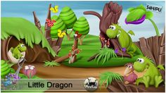 Little Dragon... Kit by Avital