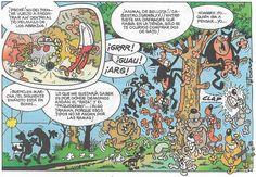 Viñeta de la historieta de Francisco Ibáñez «En Alemania». Fue serializada en la revista «Mortadelo» nº 574 a 582 (Del 23 de Noviembre de 1981 al 1 de Enero de 1982). Posteriormente apareció como álbum de la Colección  «Olé!» nº 91 (Ediciones B, septiembre de 2008),