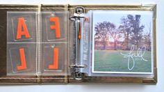 Jennifer Chapin   Loving Fall 4x4 Mini Album   One Little Bird Designs