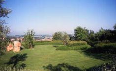 Parco privato sulle colline versiliesi.