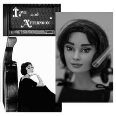 sneak peek on my next OOAK audrey Hepburn doll...