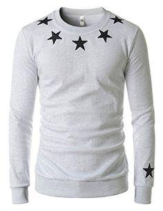 Showblanc (SBMZT70) Attractive Men Slim Figure Round Neck Casual Sweatshirts LIGHTGRAY US XS(Tag size L) Showblanc http://www.amazon.com/dp/B01BXX1GBO/ref=cm_sw_r_pi_dp_AT65wb1B686FB
