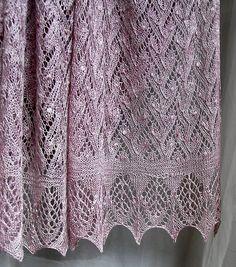 Looks Like Madli's Shawl by Nancy Bush.  DSC_0096 by Solnich, via Flickr