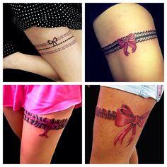 garter tattoo ideas