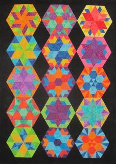 Rainbow quilts on Pinterest | Rainbow Quilt, Quilt Kits and Quilt
