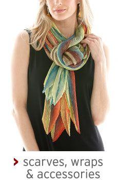 scarves, wraps & accessories