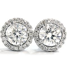 Vintage Diamond Stud Earrings--I'll take them please and thank you. :)