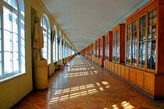 The Twelve Colleges is the main building of St Petersburg State University. Find out more about the Twelve Colleges and other historic buildings in Saint Petersburg. State University, Stairs, College, Petersburg Russia, Corridor, Hallways, City, World, Baroque