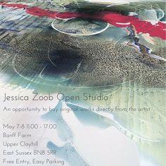 Jessica Zoob Open Studio this weekend!