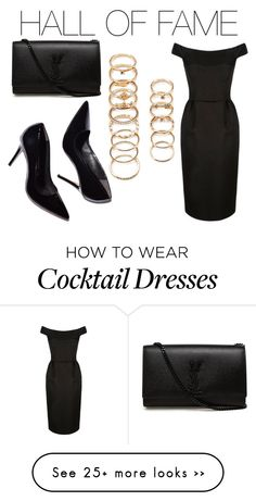 """""""HALL OF FAME"""" by thatonlinegirl on Polyvore featuring Forever 21 and Yves Saint Laurent"""