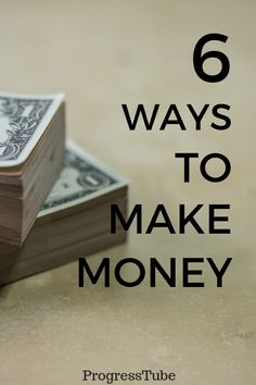 6 Ways How to Get Extra Income via the Internet! Way To Make Money, How To Get, Creating Passive Income, Internet, Country, Rural Area, Country Music, Rustic