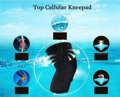 Bandage Basketball Shooting Men's Sports Knee  Pads  Protective