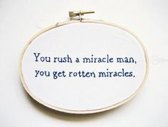 The Princess Bride Embroidery Hoop Philosophical by OooohStitchy