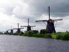 Kinderdyke - near Amsterdam, Holland.