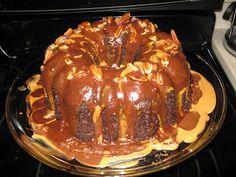 http://www.razzledazzlerecipes.com/pampered-chef-recipes/peanutty-chocolate-cake.htm Photo courtesy of google images.