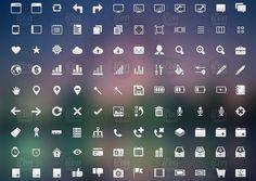 Crisp #Icon Set