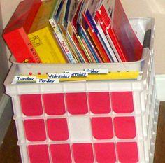 Homeschool Workbox, Lapbook Organizing and Planning - Robin Sampson's Blog : Robin Sampson's Blog