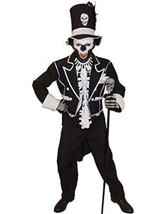 Baron Samedi Halloween Costume ** You can get more details by clicking on the image.