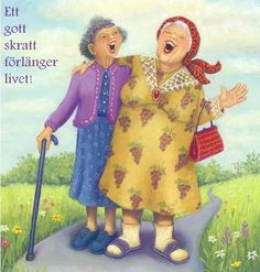 Afbeeldingsresultaat voor inge look art Old Lady Humor, Art Visage, Old Folks, Mary Engelbreit, Art Impressions, Young At Heart, Best Friends Forever, Old Women, Getting Old