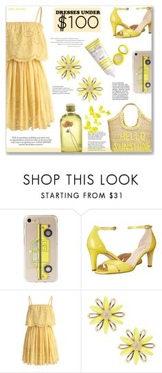 """""""Under $100 - Summer Dresses: 13/06/17"""" by pinky-chocolatte ❤ liked on Polyvore featuring Kate Spade, Chicwish, Supergoop! and Tiffany & Co."""
