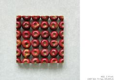 Believe it or not, there ain't no photoshop going on in these geometric food sculptures by Sakir Gokcebag. Cool, hey?