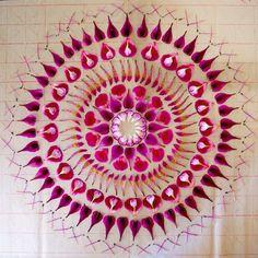 New Flower Mandalas by #KathyKlein