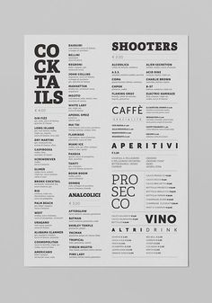 Malo' Cocktail Cafè on Behance More