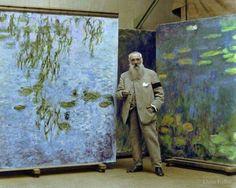 Claude Monet,1923  Arte educação e cultura!!!!!! Basile Estudo Orientado - Aulas Particulares Vestibular - Vestibulinho - Preparação a Testes www.basileestudoorientado.com.br 3022-2263   3022-2264