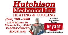 nice Hutchison MechanicalHeating and Cooling Macomb Michigan SEO heating and cooling macomb