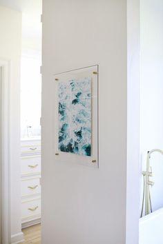 How to make an acrylic frame! via A Beautiful Mess