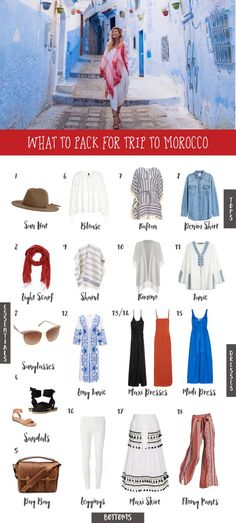 What to Pack for a Trip to Morocco