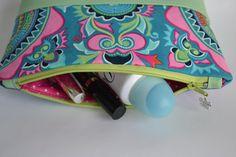 cosmetic make up bag pouch, zipper bag
