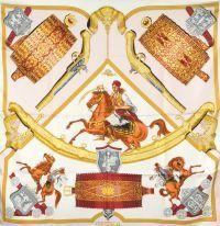 Hermès - Cavaliers Turques, signés J. Abadie