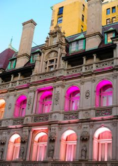 gorgeous color on an amazing building.