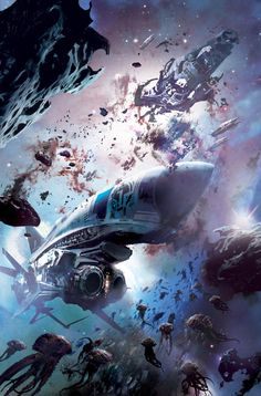 Fantasy worlds Stephan Martiniere