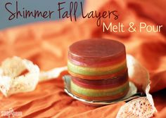 Shimmer Fall Layers Melt and Pour Tutorial | Soap Queen