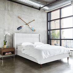 Carmichael Upholstered Platform Bed