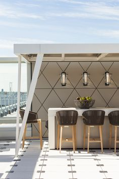 #ThomFilicia uses our Lu Sconces to lighten up Delta's Atlanta and JFK Skydesks!