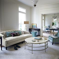 Bernhardt. Haven living room.