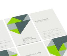 Schröger Architekten     Corporate Design by Mareike Windisch, via Behance