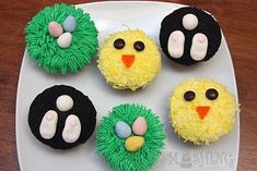 Easy Cute Cupcakes | Easy & Very Cute Spring Cupcake Ideas from around the web & Beijing in ...