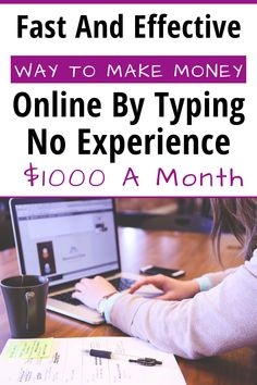 Learn how you can make money online typing without any experience. You can make up to $1000 a month. #makemoneyonline #makemoneyonlinefast #makemoneyonlinefromhome #makemoneyonlinepassiveincome #makemoneyonlineforbeginners #makemoneyonlineextracash
