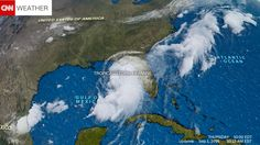 Tropical Storm Hermine could be a Category 1 hurricane by the time it hits Florida's Panhandle early Friday, making it the first hurricane in 11 years in the state, the National Hurricane Center said.