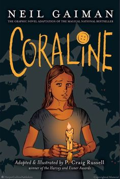 Browse Inside Coraline Graphic Novel by Neil Gaiman, Illustrated by P. Craig Russell