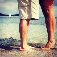 Share the love at Gyllyngvase Beach, Falmouth