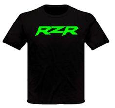 Polaris RZR ATV T Shirt Black