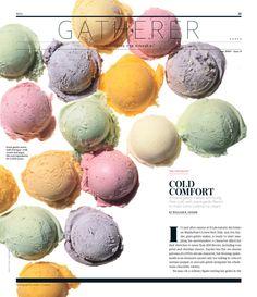 Leah Haggar Online Portfolio, Beautiful typographic layouts